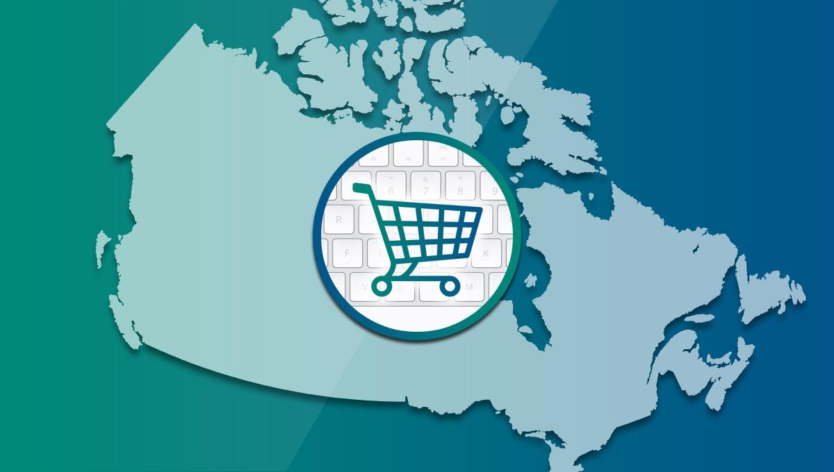 e-commerce no Canadá