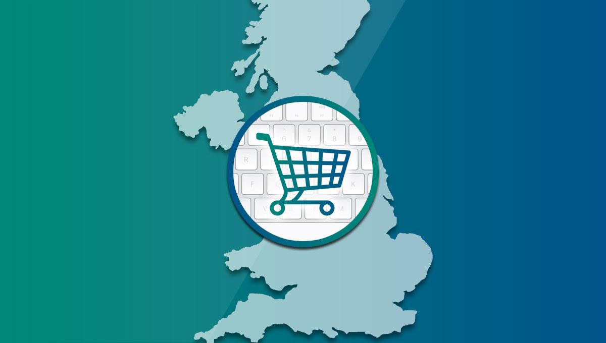e-commerce no Reino Unido