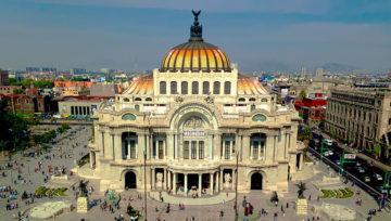 Vista da Cidade do México
