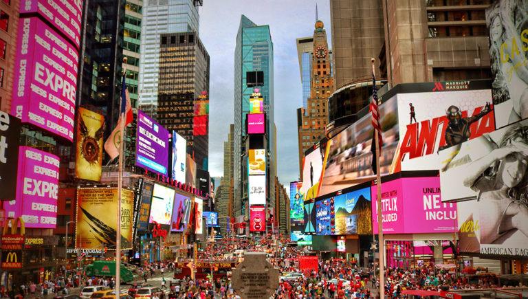 Times Square em Nova Iorque